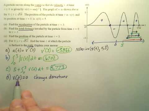 AP 2007 Form B Q2 Problems c and d
