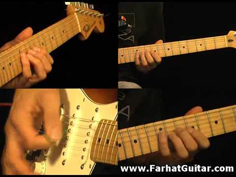 The unforgiven - Metallica Part 4 Guitar Cover FarhatGuitar.com