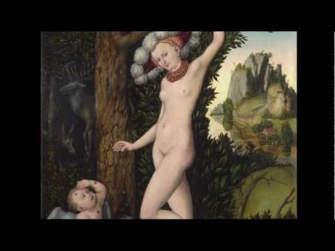 Lucas Cranach the Elder: 'Cupid Complaining to Venus' | Paintings | The National Gallery, London