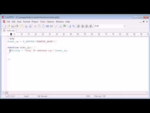 Beginner PHP Tutorial - 33 - Global Variables and Functions