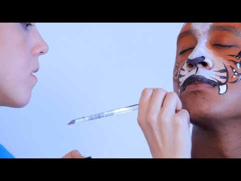 How to Do Face Painting: Tiger