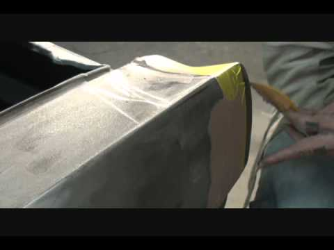 Automobile Restoration-How To Repair Your Quarter Panel Extension To Prefection. Part 2