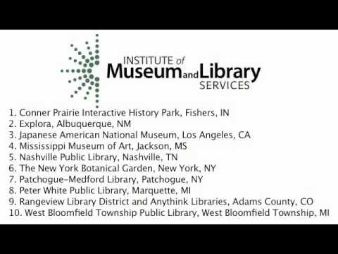 National Medal for Museum and Library Service Awarded to The New York Botanical Garden