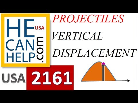 [MM 2161] TEST + A [Vertical Displacement at t=2 s] Physics Projectile Motion i NEED {HECANHELP.COM}