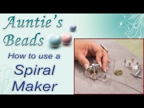 Karla Kam - How To Use A Spiral Maker