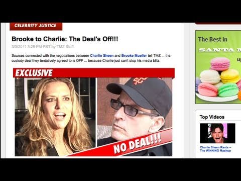 "Charlie Sheen Brooke Mueller ""Deal Off"" / Mike Myers Married"