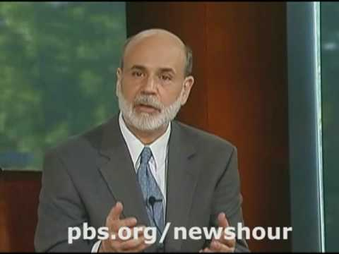 NEWSHOUR | Bernanke, On The Record, Part 3 | PBS