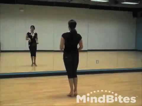 Salsa Ladies Footwork: Swing it Up (on2)