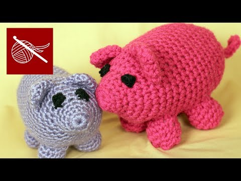 Crochet Geek - How to Make a Crochet Amigurumi Pig