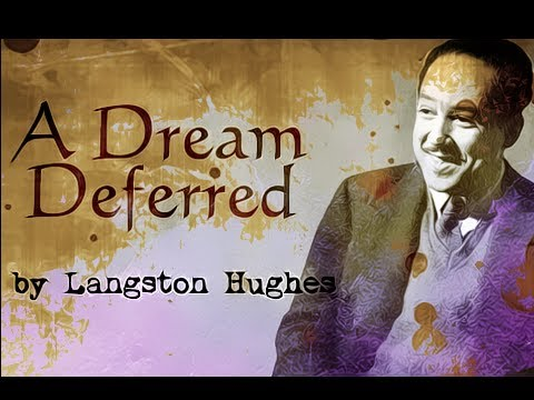 Pearls Of Wisdom - A Dream Deferred by Langston Hughes - Poetry Reading