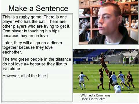 Learn English Make a Sentence and Pronunciation Lesson 108: Catch a Ball