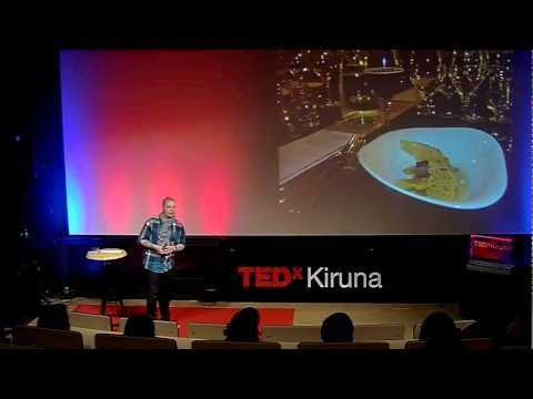 Food Inspired by the Northern Lights: Johan Lans at TEDxKiruna