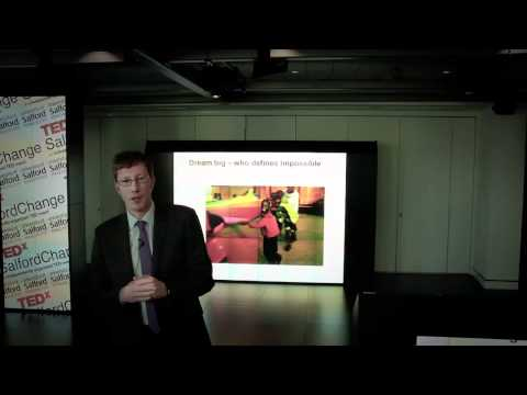 TEDxSalfordChange - Diarmuid O Neill - Making the Invisible Visible