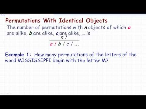Permutations Involving Identical Objects.mp4