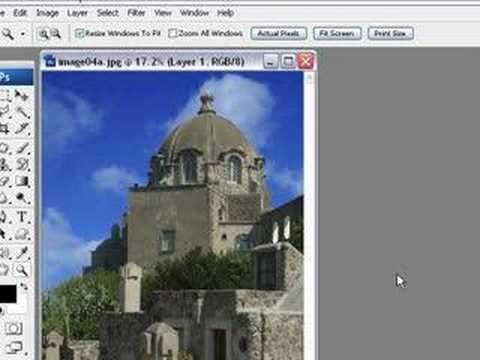 Change a sky with Photoshop CS3