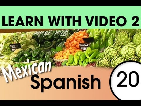 Learn Mexican Spanish with Video - Don't Shop in Mexico Without These Words