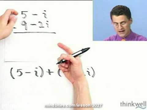 College Algebra: Add and Subtract Complex Numbers