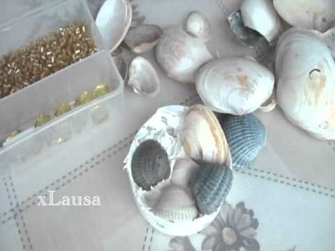Seashell pin (bag) - Tutorial