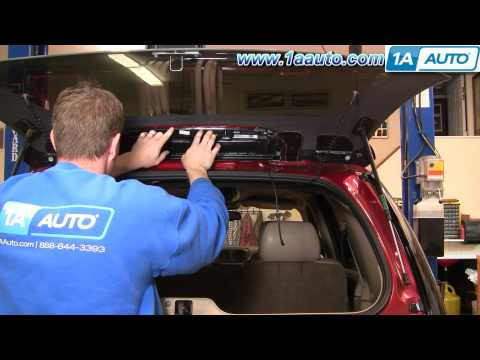How to Install Repair Replace Broken 3rd Third Top Brake Light Chevy Trailblazer 02-09 1AAuto.com