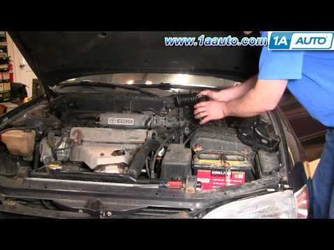 How To Install Replace Engine Air Intake Hose Toyota Camry 2.2L 95-96 1AAuto.com