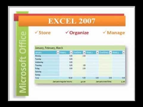Excel 2007: Overview