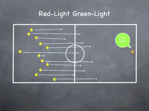 Physical Education Games - Red-Light Green-Light