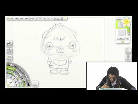 How to Draw Moshi Monster Poppet