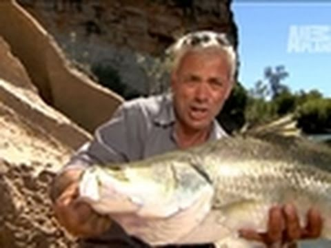 River Monsters: Catching a Barramundi | Deleted Scene