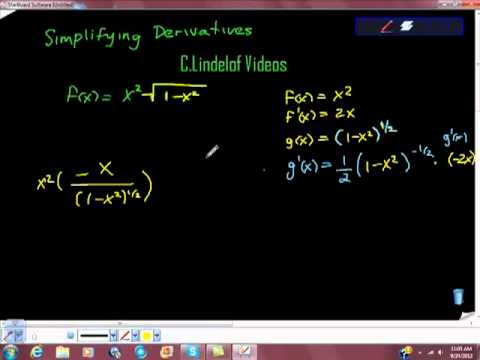 AP Calculus Many Rules for Differentiating