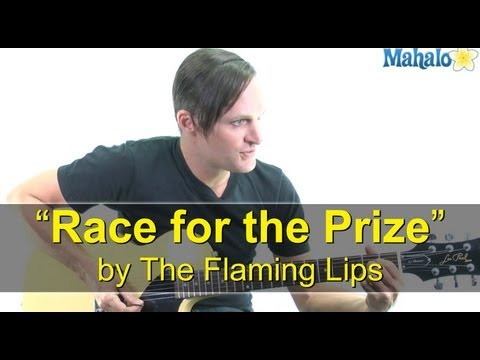 "How to Play ""Race for the Prize"" by The Flaming Lips on Guitar"