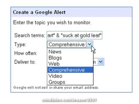 Is Your Momma Talking Smack? Google Alerts Explained
