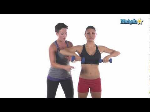 How to Do an Upright Row with Dumbbells