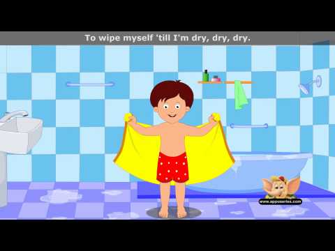 After A Bath - Nursery Rhyme Karaoke