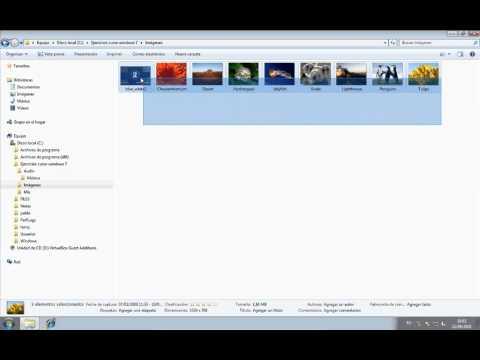 Curso de iniciación a Windows 7 - 05 - Trabajar con archivos y carpetas en el Explorador de Windows