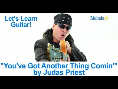 """You've Got Another Thing Comin'"" by Judas Priest Practice Cover on Guitar"