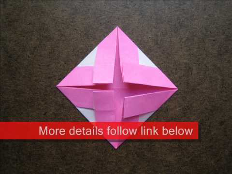 How to Fold Simple Origami Coaster - OrigamiInstruction.com
