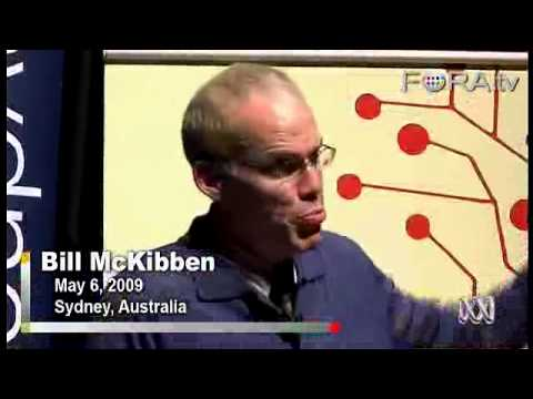 350 PPM CO2: Earth's Tipping Point? - Bill McKibben