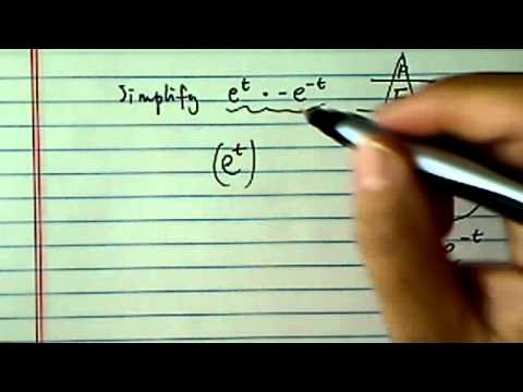 How to simplify exponents?