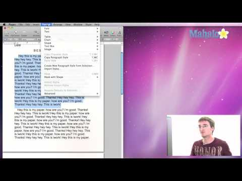 How to Outline Text in Pages, iWork