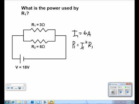 Electric Current and Circuits Presentation #34