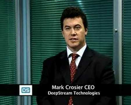 Technology Pioneer 2007-Mark Crosier DeepStream Technologies