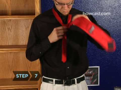 How To Tie a Tie With a Half Windsor Knot