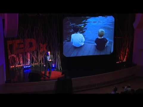 TEDxOU - Jeff Swearingen - Father of Fishermen : Happiness vs Pleasure