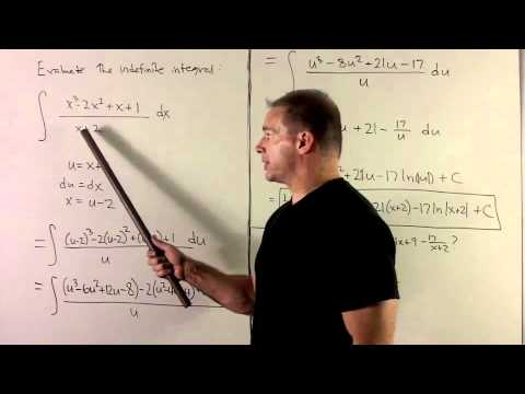 Antiderivative involving 1/x 1