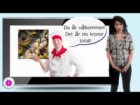Swedish lesson 6 - numbers, thank you, please