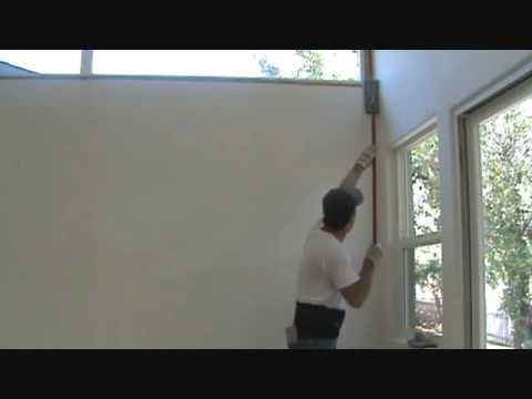 How to sand a wall