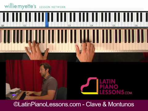Salsa Piano Lessons - Clave & Montunos