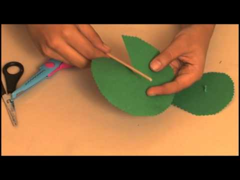 How to make a Table Top Christmas Tree - Arts and Crafts