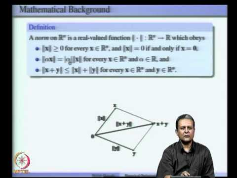 Mod-02 Lec-02 Mathematical Background