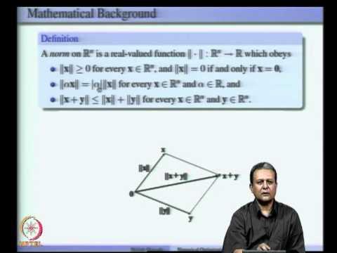 Mod-02 Lec-02 Mathematical Background